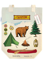 Cavallini Tote Bag Camping