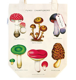 Cavallini Tote Bag Mushrooms