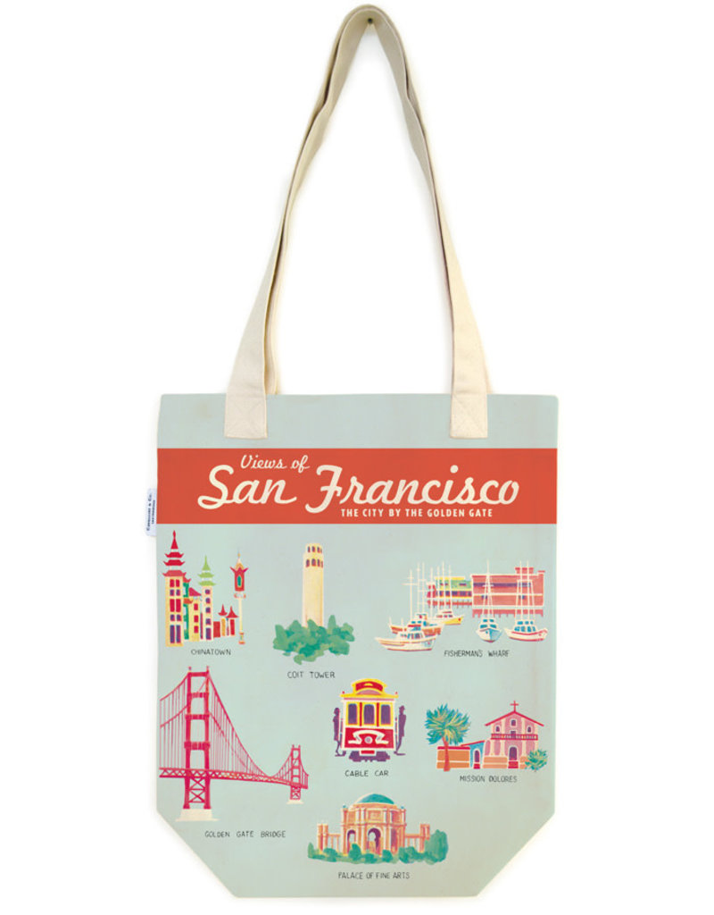 Cavallini Tote Bag San Francisco