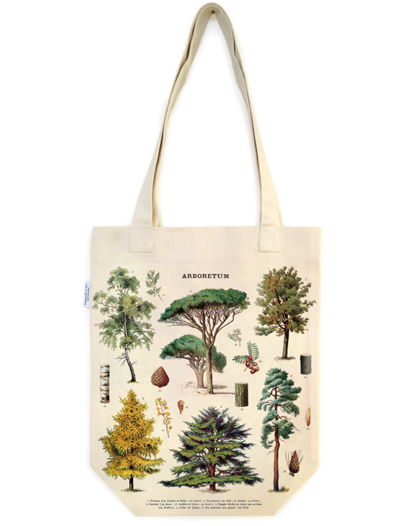 Cavallini Tote Bag Tree