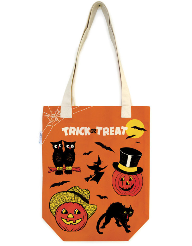 Cavallini Tote Bag Trick or Treet