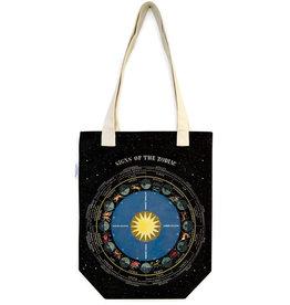 Cavallini Tote Bag Zodiac