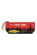 Cavallini Mini Pouch NYC Skyline