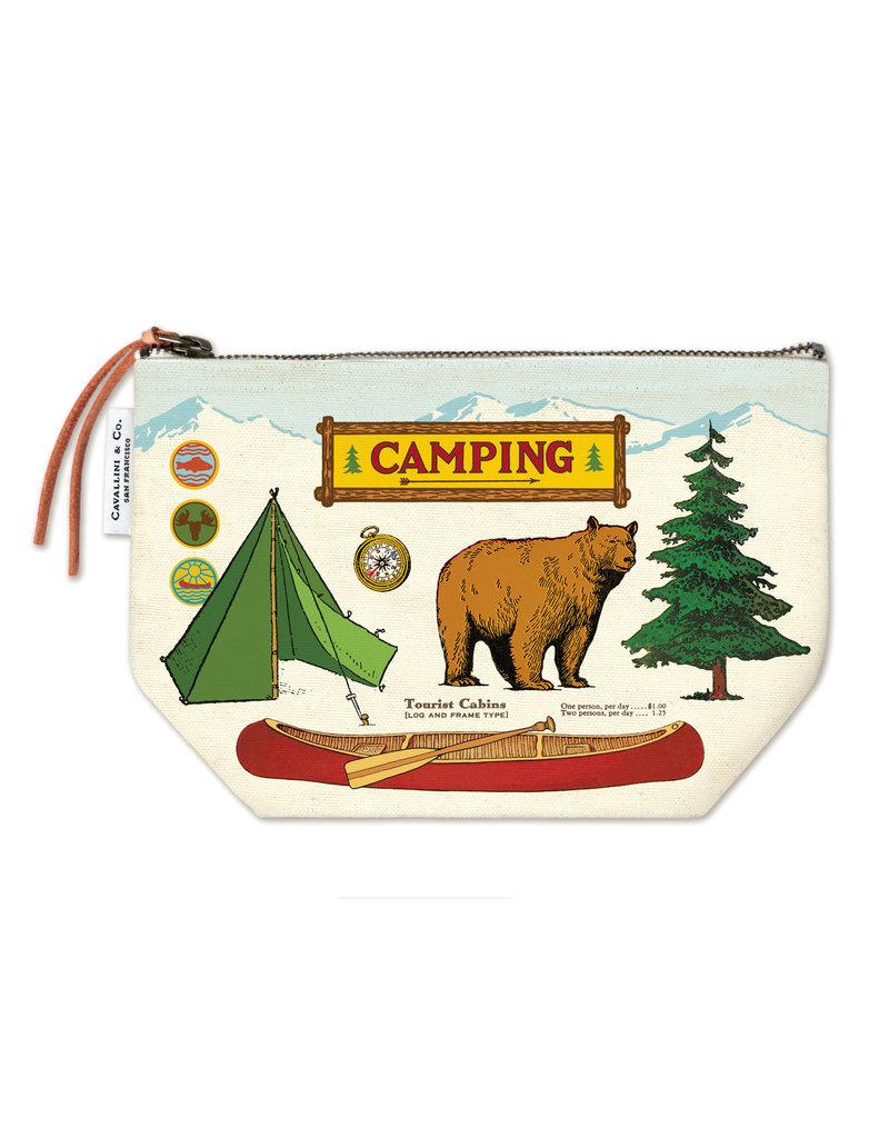 Cavallini Pouch Camping