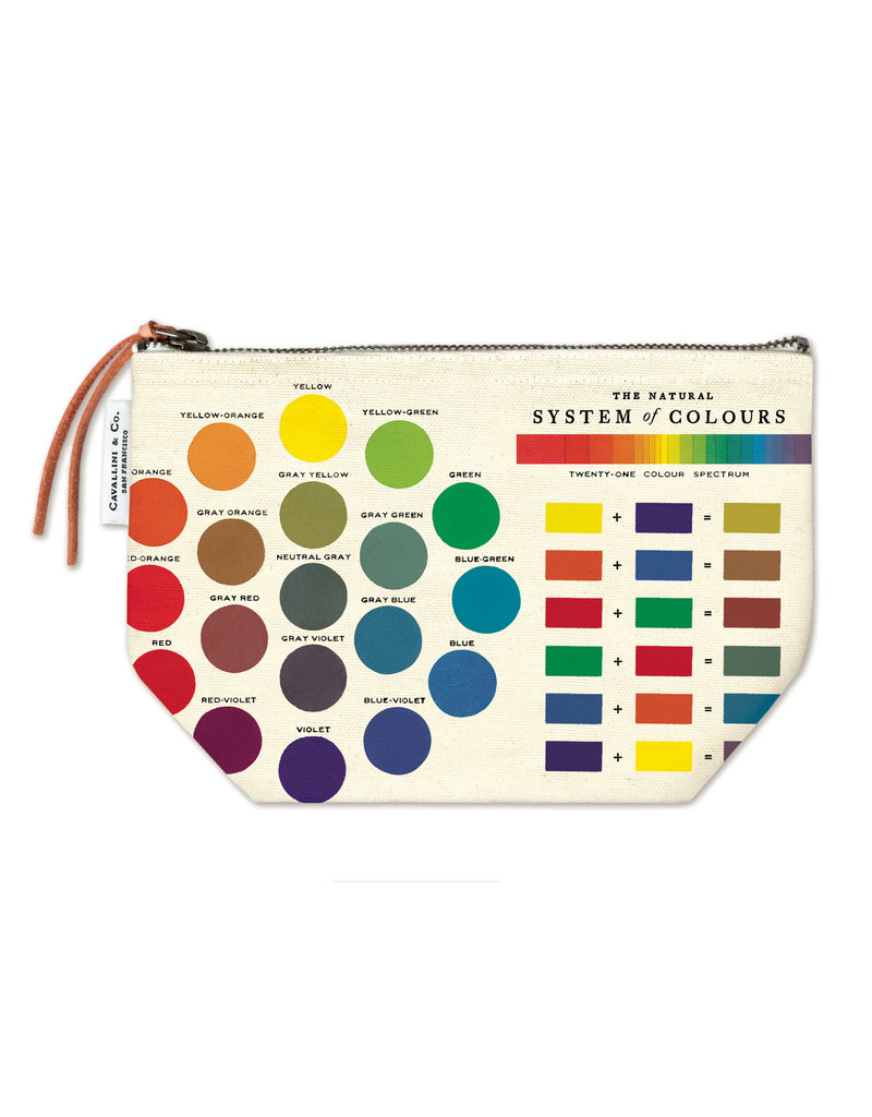 Cavallini Pouch Color Wheel