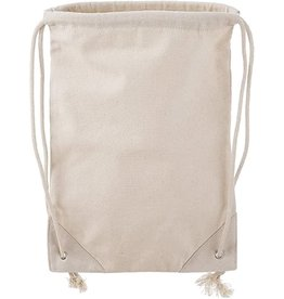 Darice Canvas Drawstring Backpack: 16 X 18 Inches