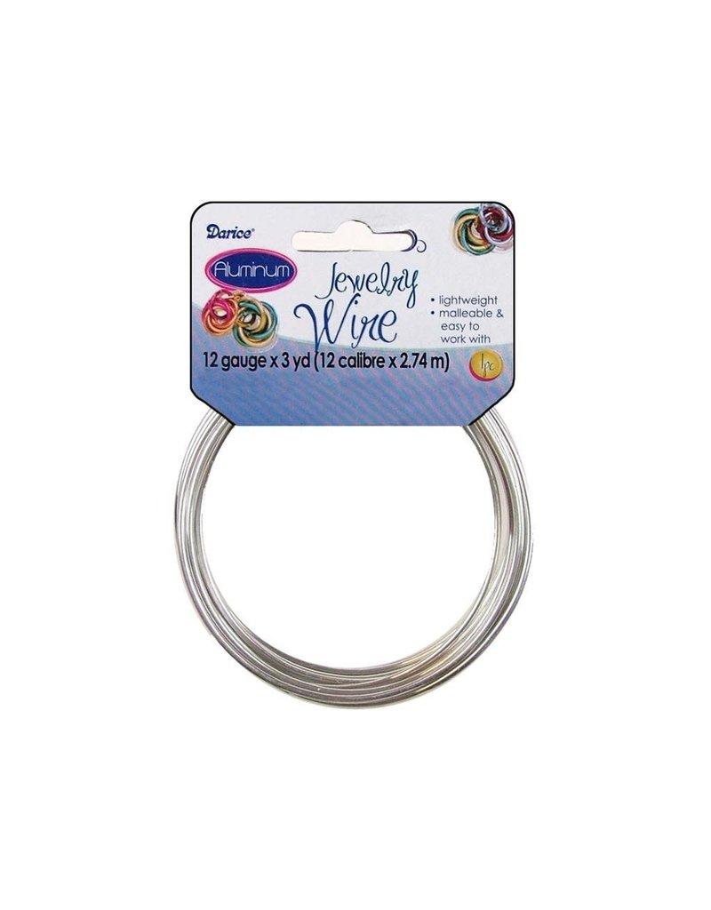 Darice Aluminum Jewelry Wire 12 gauge 3 yards