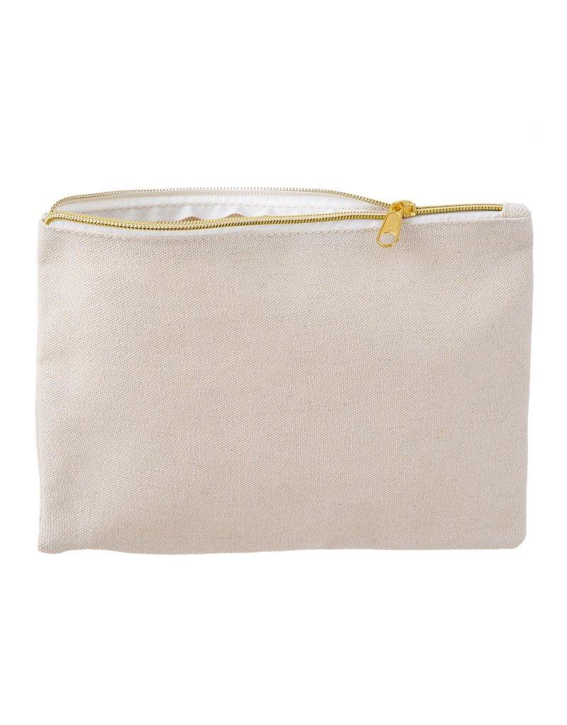 Darice Bag Tote Cosmetic with Zipper