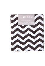 Darice Chevron Quilting Fabric Fat Quarters: Black, 18 X 21 Inches