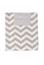 Darice Chevron Quilting Fabric Fat Quarters: Gray, 18 X 21 Inches