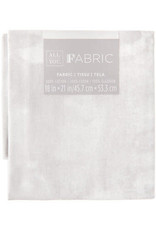 Darice Marble Quilting Fabric Fat Quarters: White, 18 X 21 Inches