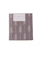 Darice Patterned Quilting Fabric Fat Quarters: Gray Arrows, 18 X 21 Inches