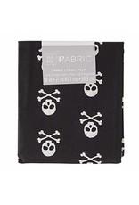 Darice Patterned Quilting Fabric Fat Quarters: Skulls & Crossbones, 18 X 21 In