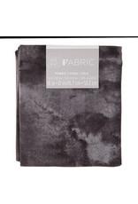 Darice Tie Dye Quilting Fabric Fat Quarters: Black, 18 X 21 Inches