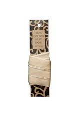 Lineco Head Band Cotton Ivory