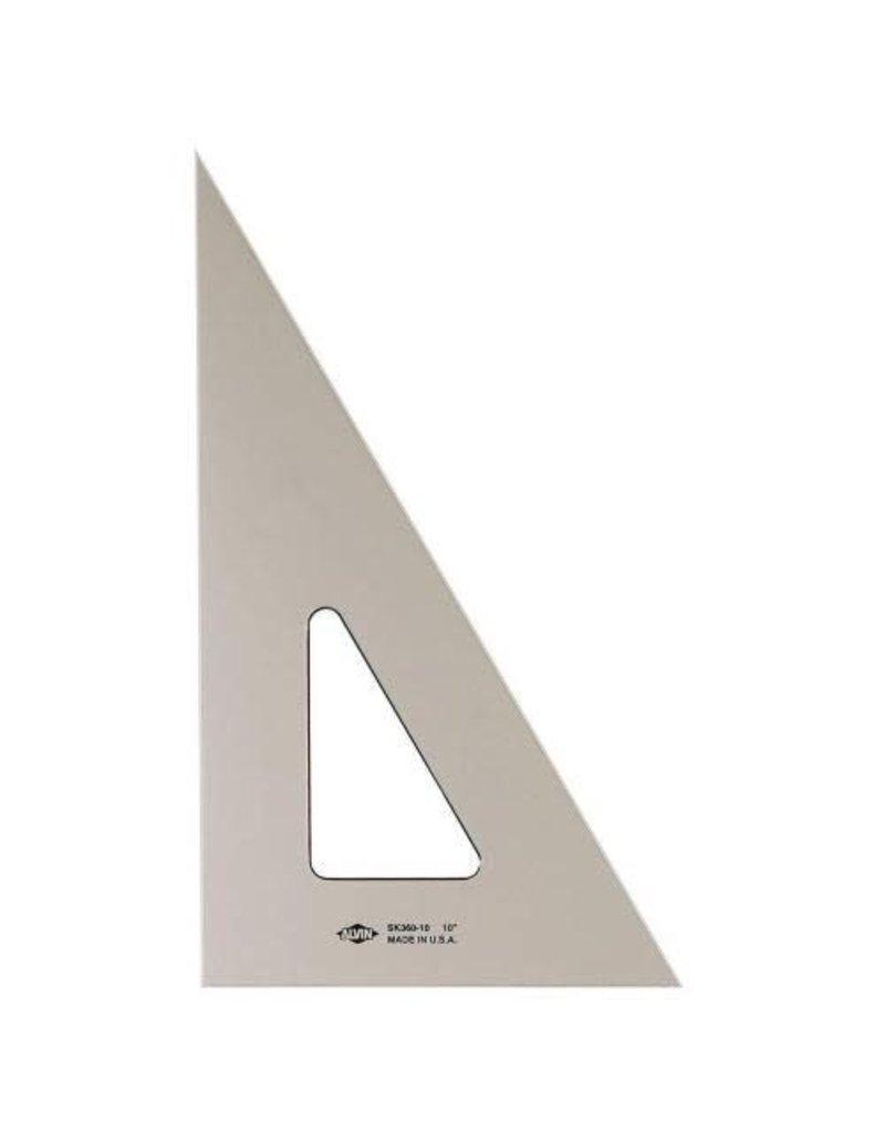 Alvin 8'' Smoke-Tint Triangle 30/60