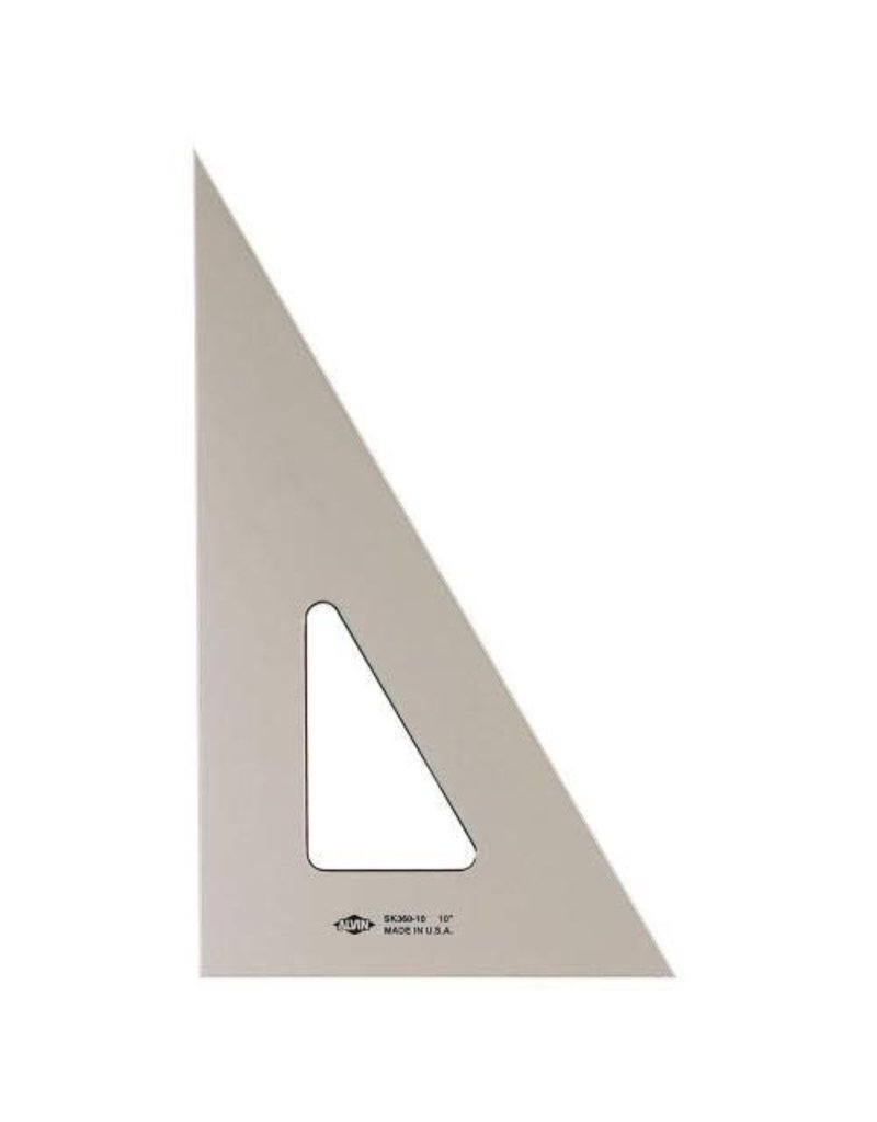 Alvin 6'' Smoke-Tint Triangle 30/60