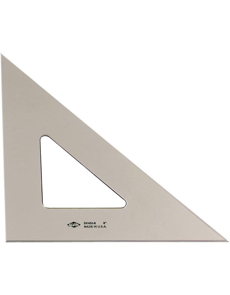 Alvin 8'' Smoke-Tint Triangle 45/90