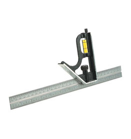Johnson Steel Square Ruler - 12