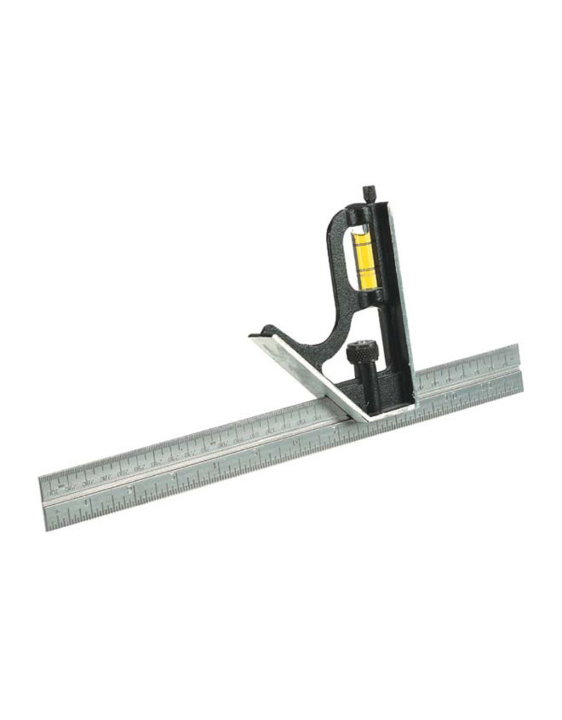 Johnson Steel Square Ruler - 12