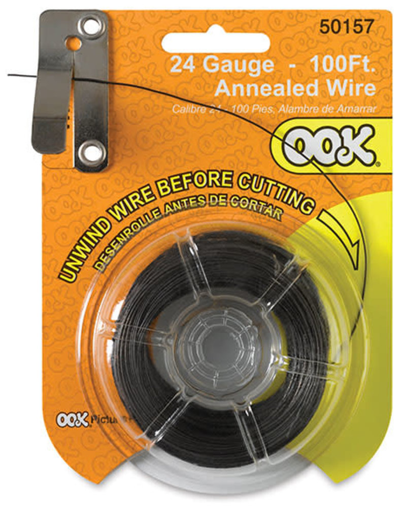 Ook Annealed Wire 24 Ga 100 Ft Cd