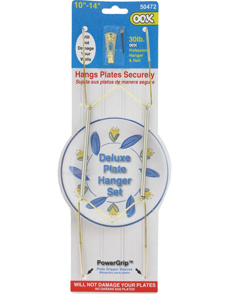 Ook Deluxe Plate Hanger 10-14In