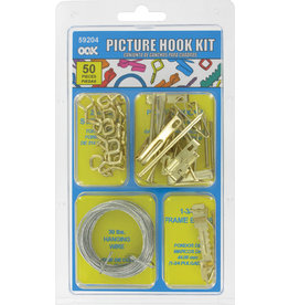 Ook Picture Hanging Kit 50Pc
