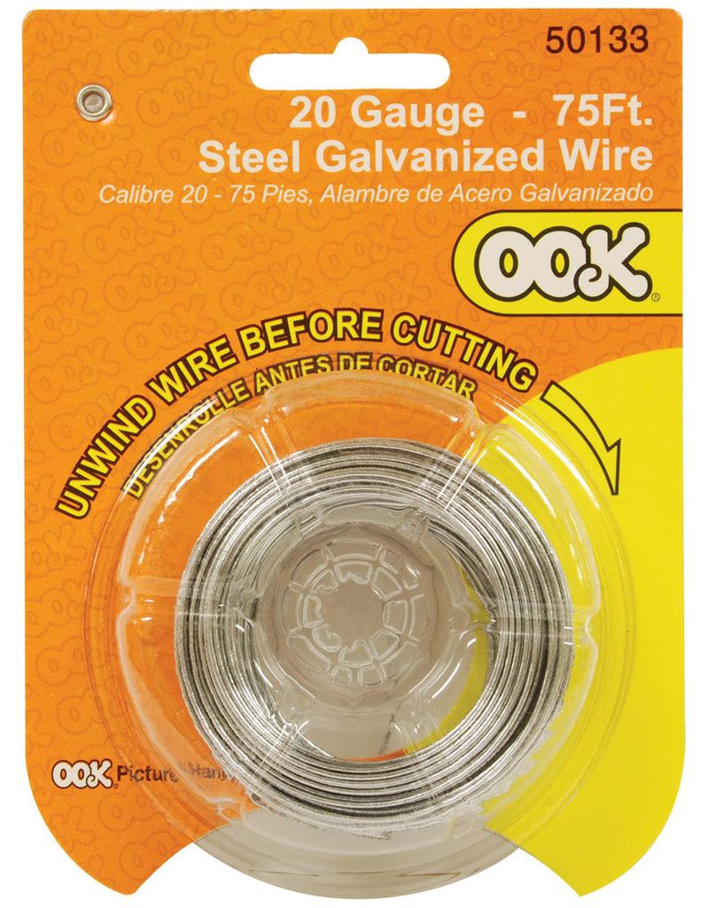 Ook Steel Wire 20 Ga 75 Ft