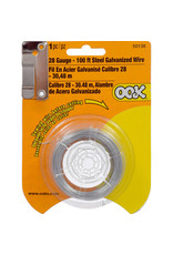 Ook Steel Wire 28 Ga100 Ft Cd