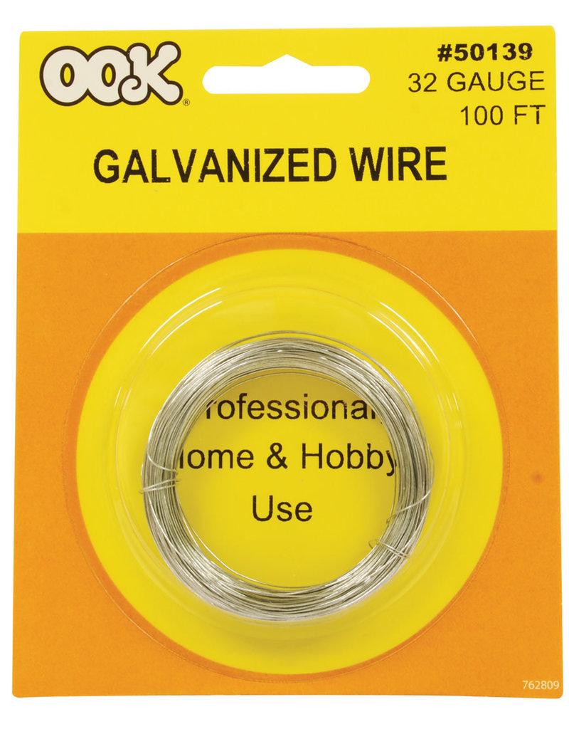 Ook Steel Wire 32 Ga 100 Ft Cd