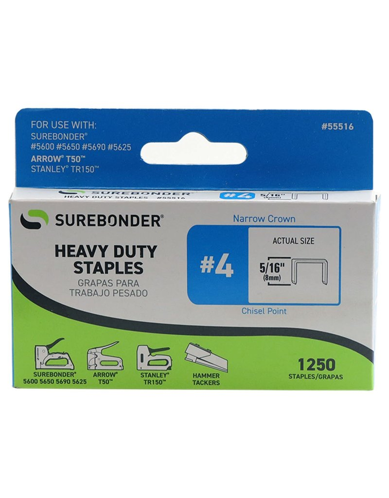 FPC Products Hd 5/16 Staples #4 1250/B