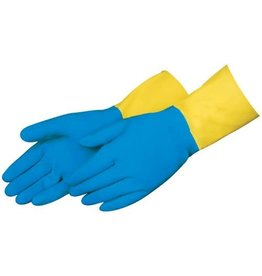 "NS Preforma 28 mil 13"" Neoprene Over Natural Latex Chemical Resistant Gloves - Small"