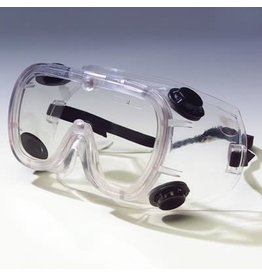 N-Specs Clear Anti-Fog Lens Splash Protection Safety Goggles