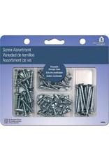 Helping Hand Helping Hand Screw Kit - Silver Asst 7Oz