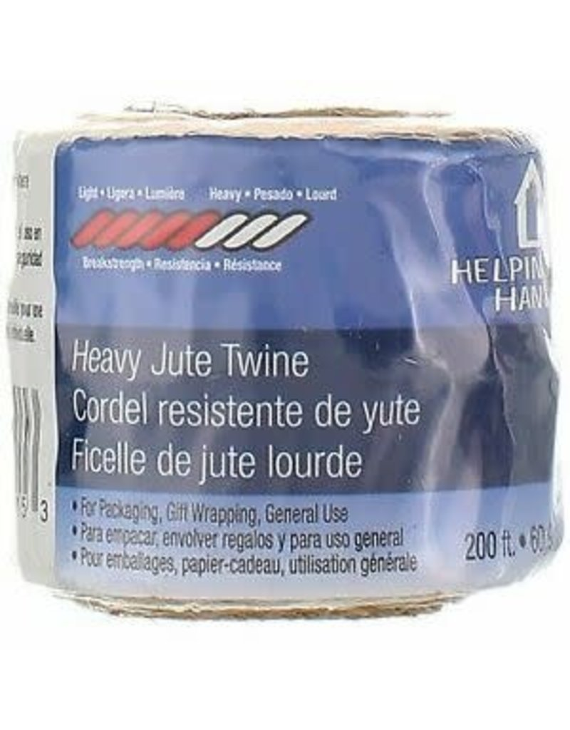 Faucet Queen Heavy Duty Jute Twine 200Ft