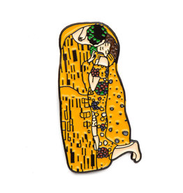 Today is Art Day Art History Enamel Pins, Kiss - Klimt