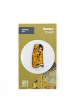 Today is Art Day Art History Enamel Pins, Kiss - Klimt