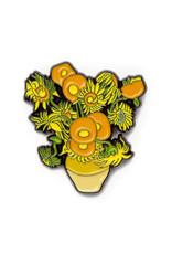 Today is Art Day Art History Enamel Pins, Sunflowers - Van Gogh