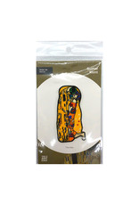 Today is Art Day Art History Iron On Patches, Kiss - Klimt