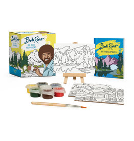 Running Press Bob Ross By Numbers Kit