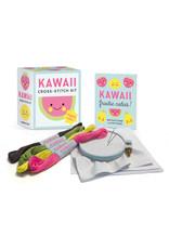 Running Press Kawaii Cross Stitch Kit