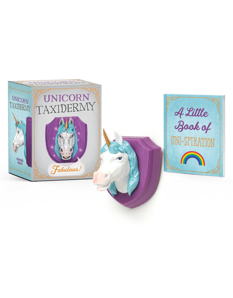 Running Press Unicorn Taxidermy