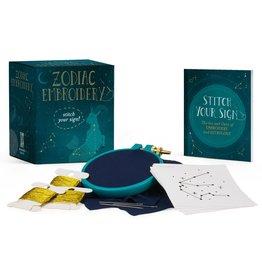 Running Press Zodiac Embroidery Kit