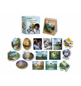 Running Press Bob Ross Happy Little Magnet Set Mini Edition