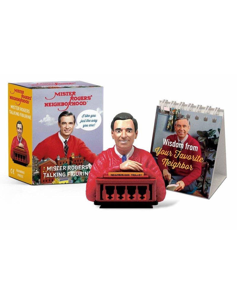Running Press Mister Rogers Talking Figurine Mini Edition