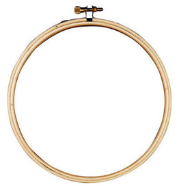 Darice Wood Embrdry Hoop 6In Rnd