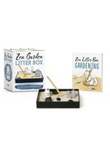 Running Press Zen Garden Litter Box Kit Mini Edition
