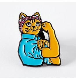 Punky Pins Pin Feminist Rosie