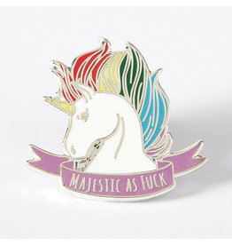 Punky Pins Pin Majestic As F*ck Unicorn