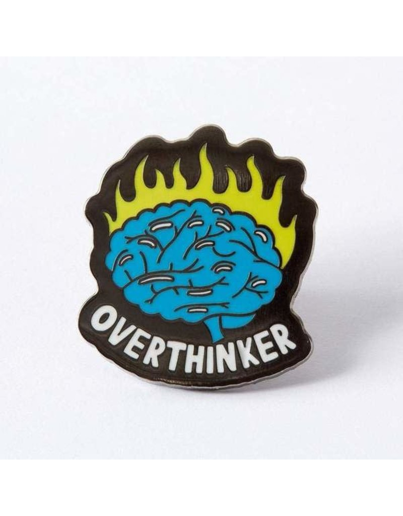Punky Pins Pin Overthinker